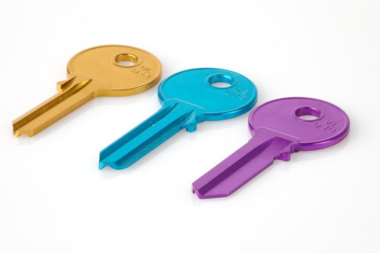 Ključevi u boji